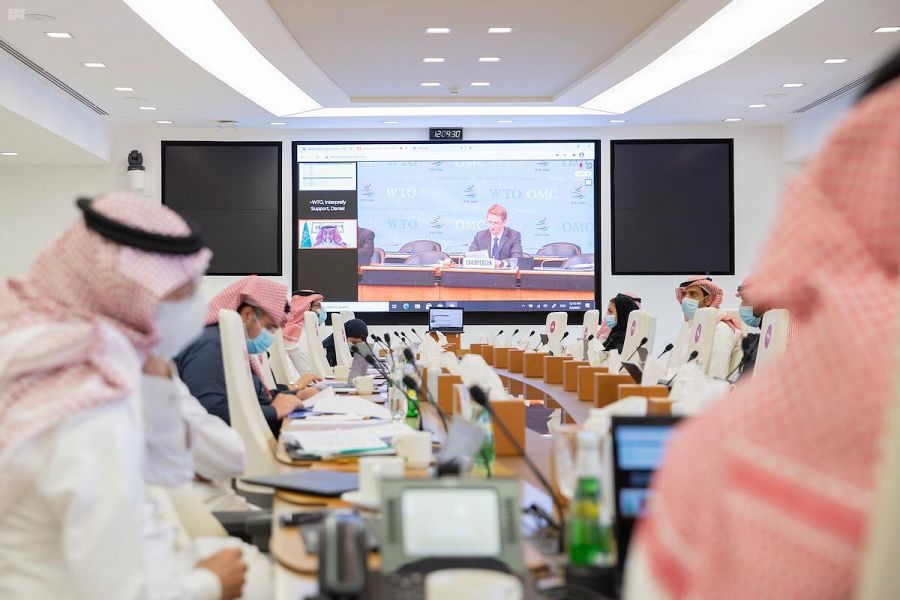 Forty-four Government Agencies Participate in Saudi Arabia's WTO 3rd Trade Policy Review