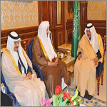 Crown Prince received the Speaker of Majlis Al-Shoura