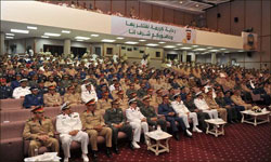 Prince Abdulrahman patronizes graduation ceremony at College of Command and General Staff