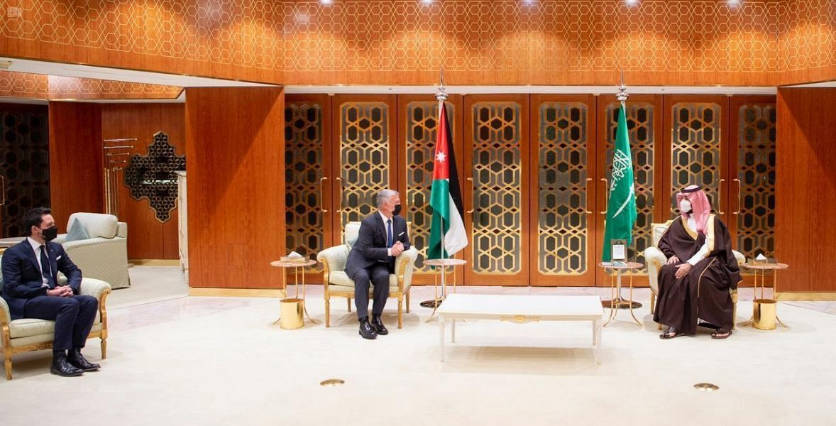 HRH Crown Prince, King of Jordan Review Fraternal Relations, Aspects of Cooperation, in various Fields