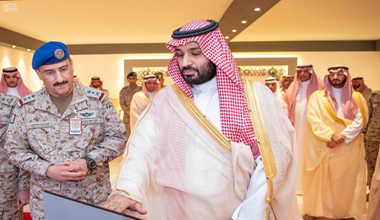 HRH the Crown Prince lays cornerstone for establishment of Air War Center