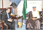 MCIT Minister discusses cooperation with Finland's Minister of Trade