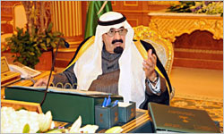 The King chaired the Cabinet session
