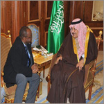 Crown Prince received Mauritania Minister of Interior and Decentralization