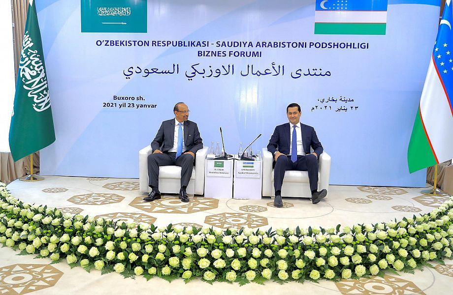 Saudi-Uzbek Investment Forum Held, under the Co-auspices of the Two Ministers
