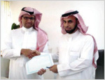 A citizen residing abroad gets the first electronic Commercial Registry in the Kingdom