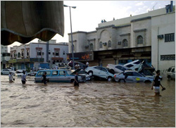 A royal decree ordered all accused in Jeddah flood to be referred to CIB and BIP